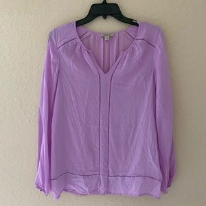Lucky Brand Purple Blouse Size S